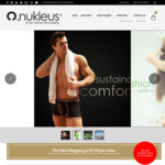 20% off Store Wide, $7 Delivery @ Nukleus Organic Wear