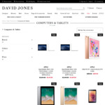DAVID JONES Take an Extra 10% off Selected, Already Reduced Phones, Tablets & MacBooks from Apple & Samsung