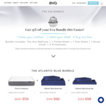 Save 15% on Mattresses + Sheets + Duvet Bundles w/ Free Shipping (from $910 for DB Size) @ Eva Mattress