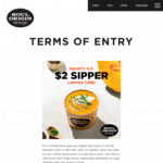 $2 Sipper Size Soup @ Soul Origin