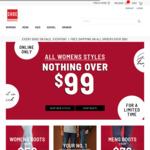 All Men's & Women's Shoes & Boots $99 & under (Free Shipping on Orders $99 or More) @ Shoe Warehouse Online