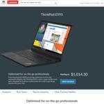 "ThinkPad E595 / 15.6"" FHD / AMD Ryzen 5 3500U / 256GB SSD / 8GB RAM / $769 Shipped @ Lenovo"