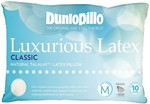 Dunlopillo Luxurious Latex Medium Profile Classic Pillow $62.10 C&C (or $14.95 Delivery) @ Harvey Norman