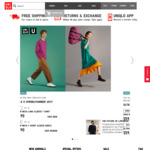 Free Shipping Today (12/8) at Uniqlo