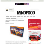 Win 1 of 4 BoomTrix Showdown Games Worth $69.99 from MiNDFOOD