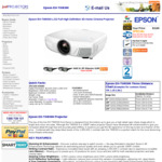 Epson EH-TW8300 Home Theatre Projector $2899 with Free Delivery from Just Projectors