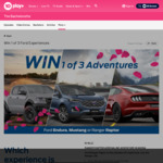 Win a Ford Experience Worth $10,000 from Network Ten