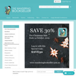 30% off Everything at The Wandering Bookseller (Christian Bookstore)