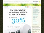 The UNBEATABLE Dermalogica Winter Clearance - 30% off All Stock*