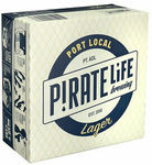 Pirate Life Brewing Port Local Lager Beer 16 x 355mL Cans $36 Delivered @ CUB eBay
