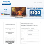 """Redeem $100 Cash Back on Selected 43"""" UHD 4K Philips Monitors (Purchased at Aust. Resellers) via Philips"""