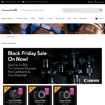 Canon EOS R $2198 (+ $100 Cashback) | Canon EOS RP $1389 (+ $100 Cashback) | Free Delivery & 5 Year Warranty @ CameraPro