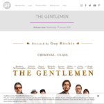 [NSW, VIC, QLD] Free Preview Screening of The Gentlemen (Matthew McConaughey, Directed by Guy Ritchie) @ ShowFilmFirst