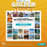 Win a Gold Coast Accommodation & Activity Package for 4 Worth Up to $4,887 from Expedia
