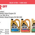 Nulon Full Synthetic Petrol/Diesel Oil 5L 5W30/10W40 $31.99 @ Costco (Membership Required)