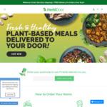 $15 off Home Delivered Plant Based Meals @ Herbidoor