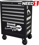 """[NSW] SIDCHROME 6 Drawer Heavy Duty Roller Cabinet 27"""" $330 (RRP $569) @ Need 1 (Pick-up Only)"""
