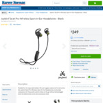 Jaybird Tarah Pro Wireless Sport In-Ear Earphones $124.50 (RRP $249.00) + Delivery (Free C&C) @ Harvey Norman