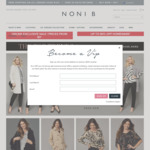 Free Shipping On Orders Over $21 @ Noni B