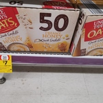 Uncle Toby's Creamy Honey Oats 50 Pack $7 (Was $16.99) @ Coles