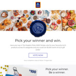 Win $1,000 Worth of ALDI Gift Cards or One of 10x $100 Gift Cards from ALDI