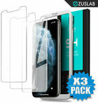 iPhone 11 Pro, XS, MAX, XR, X, 8,7 Plus, SE Tempered Glass Screen Protector - 3 for $5.64 Delivered @ Zuslab eBay