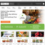 [VIC] Free Same Day Delivery for Father's Day within 10km of Moonee Ponds Central with $50 Spend Online (Save $16.50)