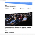[NSW] Free Hoyts Single Pass Movie Ticket (First 100 Redemptions) with Westfield Plus (Eastgardens Only)