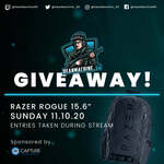 """Win a Razer Rogue v2 15.6"""" Backpack Worth $184.95 from DeanMachine_90"""