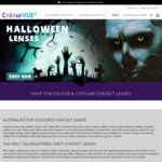 25% Off Coloured and Halloween Contact Lenses Storewide @ Colourvue