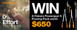 Win a Fiskars PowerGearX™ Pruning Pack Valued at $650 from Gardening Australia