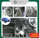 Floor Mats Fits Toyota Hilux 2015+ from $100 Delivered @ Oriental Auto Decoration