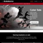 50% off Gaming Accessories (Excluding Headsets, Keyboards, Mice, Mousepads) + Delivery @ SteelSeries