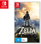 [Latitude Pay] Switch: The Legend of Zelda: Breath of The Wild $47 + Delivery ($0 with Club) and More Game Deals @ Catch
