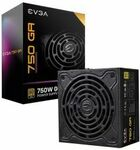 EVGA SuperNOVA GA Series 750W 80+ Gold Fully Modular Power Supply $149 + Delivery/Pickup @ Budget PC