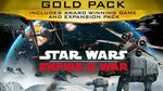 [PC] Star Wars Empire at War - Gold Pack - $6.36 @ Fanatical