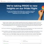 "One Way ""Pride Flight"" on 5/3 12:05pm Brisbane - Sydney, Economy $150, Business $350 (Unlimited Drinks, DJ)  @ Virgin Australia"