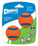 Chuckit Ultra Ball 2 Pack Small or Medium Dog Toy $4.99 (63% Off) + Delivery (Free Delivery with $49 Spend) @ Pet Circle