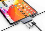 USB-C Hub for iPad Pro / Mac / Android devices - 4kHDMI, 2xUSB, AUX, PD $35.14 ($0 Delivery with Prime) @ ezygadgetz via Amazon