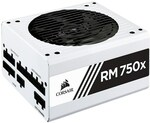 Corsair RM750x White Series 750W 80+ Gold Modular ATX Power Supply - $179 Delivered @ Mwave