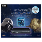 Sony Blu-Ray Player (BDP-S185) and Star Wars Blu-Ray Trilogy IV, V, and VI. $98 Big W