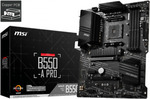 [eBay Plus] MSI B550-A PRO AM4 ATX Motherboard $160.48 Delivered @ Harris Technology eBay