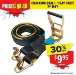 Guardall 50MM X 9M 2500KG Ratcheting Strap 100165P $9.95 + Shipping / Pickup (Was $16) @Total Tools