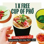 [QLD] Free Cup of Phơ, Wednesday (26/5) 11am-2pm @ Roll'd (Valley Metro, Fortitude Valley)