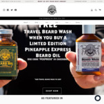 The Bearded Chap: 30% off all Luxury Men's Grooming Product Range + Free Shipping