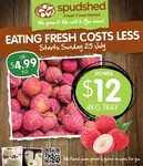 [WA] Lychee $12/4kg/Tray or $4.99/kg @ Spudshed