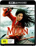 Mulan (Live Action) 4K Blu-Ray $7.95 + Delivery ($0 with Prime/ $39 Spend) @ Amazon AU