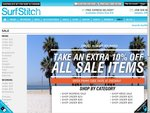 Surfstitch - an Extra 10% off Sale Items with Coupon