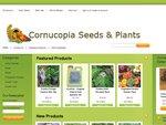 Cornucopia Seeds & Plants 20% off