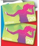 Get 2x $20 iTunes Cards for $30 at The Good Guys